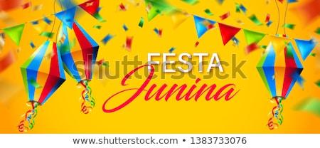 Foto stock: Tradicional · celebração · confete · dança · cor · carnaval