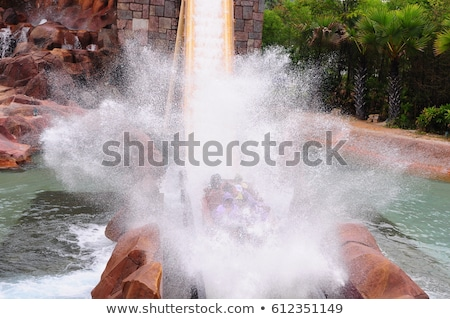 Kids on water slide theme image 4 Stock photo © clairev