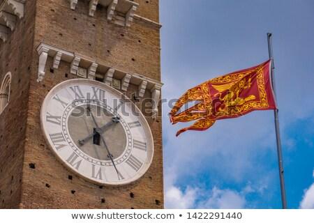 ベニスの 共和国 フラグ ヴェローナ イタリア 表示 ストックフォト © boggy