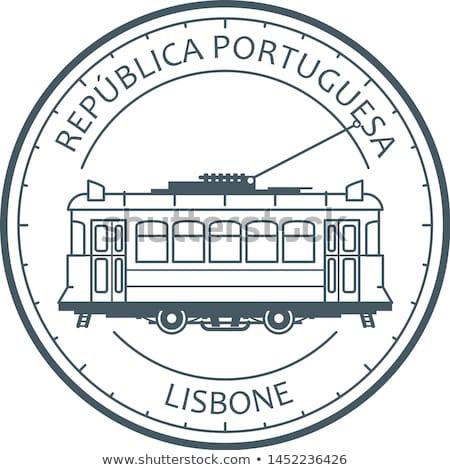 город · трамвай · прибыль · на · акцию · вектора · группы · легкий - Сток-фото © winner