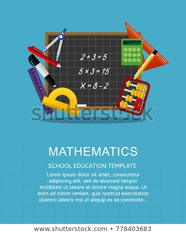 Mathematics Dispcipline School University Subject Stock photo © robuart