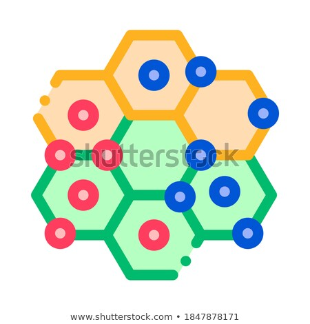 interactive kids game points vector thin line icon stock photo © pikepicture