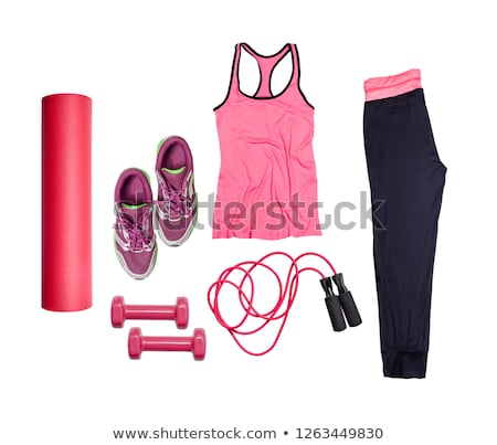 Sport item on white stock photo © CatchyImages