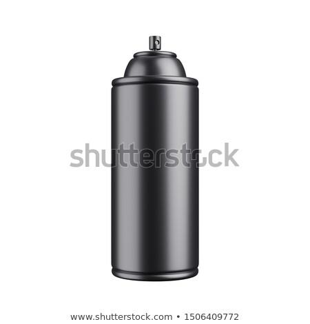 aluminium · spray · kan · geïsoleerd · witte · lichaam - stockfoto © djmilic