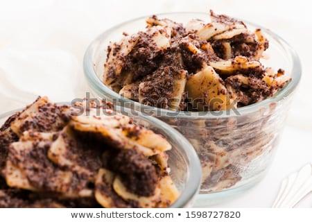 Traditionnel maison pavot semences préparé Photo stock © joannawnuk