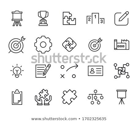 ベクトル 星 シンボル アイコン デザイン 法 ストックフォト © nickylarson974
