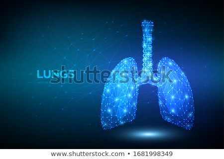 Chronic obstructive pulmonary disease abstract concept vector illustration. Stock photo © RAStudio