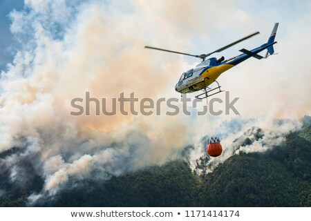 Stockfoto: Firefighter Helicopter