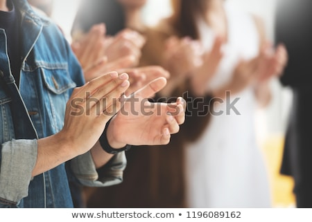 Applauding person Stock photo © Paha_L