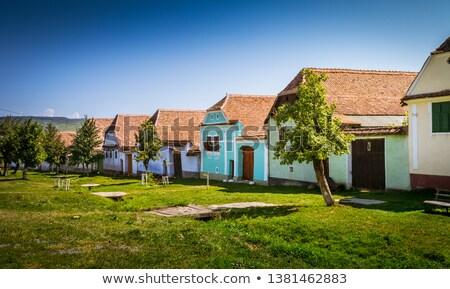 traditional transylvanian house stock photo © razvanphotography