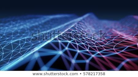 brain in abstract background stock photo © 4designersart