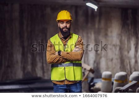 Confident foreman Stock photo © photography33