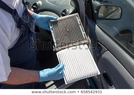 air filter and the cabin filter stock photo © marekusz