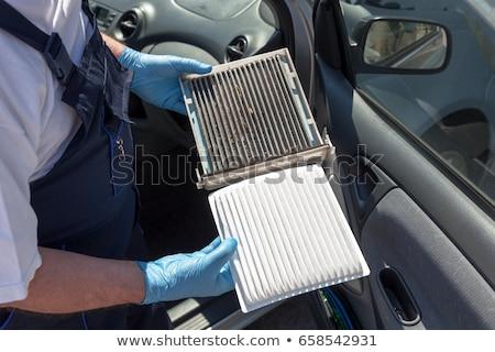 Powietrza filtrować kabiny zobaczyć usługi obiektu Zdjęcia stock © marekusz