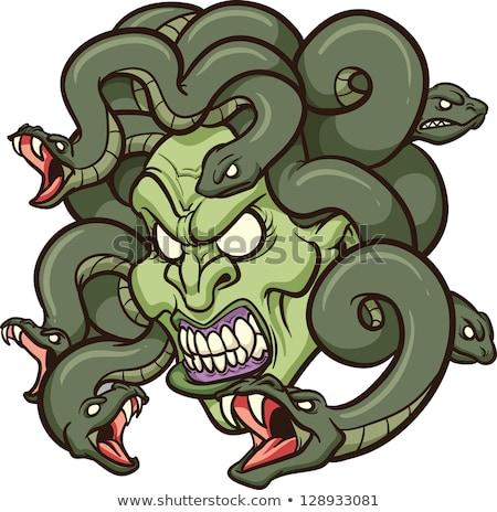 Cartoon Character Medusa Stock photo © RAStudio