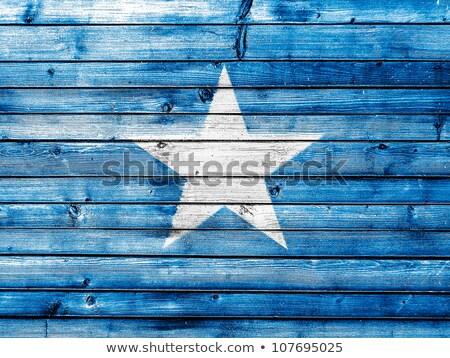 Grunge vlag Somalië oude vintage grunge textuur Stockfoto © HypnoCreative