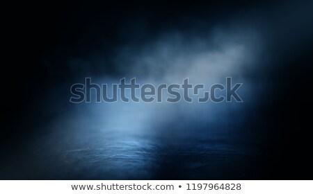 Bağbozumu korkutucu mavi karanlık kâğıt doku Stok fotoğraf © vkraskouski