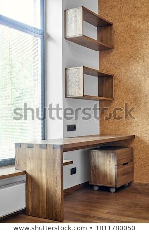 Дать столе интерьер книгах таблице мебель Сток-фото © Paha_L