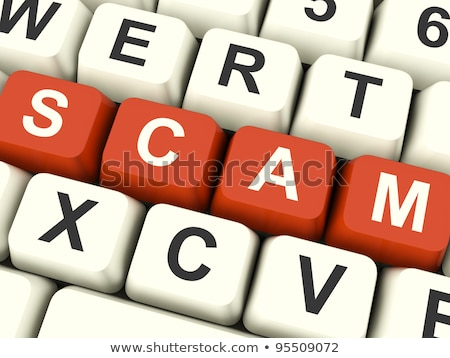 Scam Computer Key Stock photo © REDPIXEL