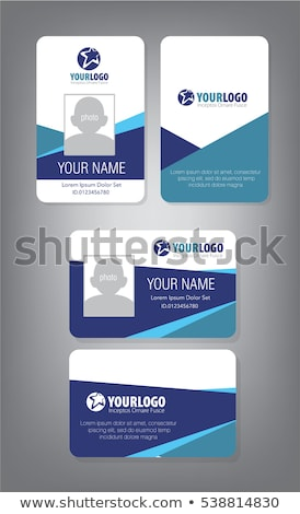 ID Template stock photo © fixer00