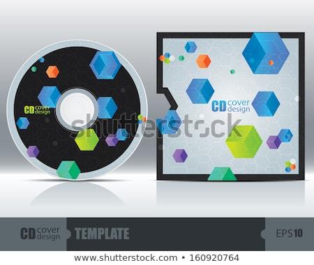 prata · metálico · cds · computador · música - foto stock © haraldmuc