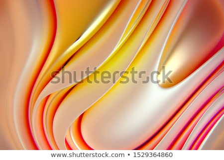 3d визуализации красный розовый органический волновая картина художника Сток-фото © Melvin07
