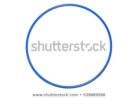 kék · izolált · ajándék · gyönyörű · luxus · linkek - stock fotó © garethweeks