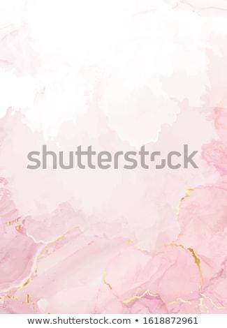 Pembe değerli taş yalıtılmış beyaz Stok fotoğraf © winterling