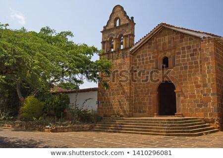 szobor · Jézus · Krisztus · katolikus · templom · kereszt - stock fotó © jkraft5
