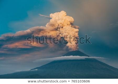 bali · vulcão · paisagem · ilha · Indonésia · azul - foto stock © witthaya