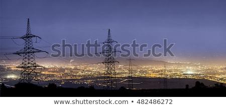 Electricity for a city Stock photo © vavlt