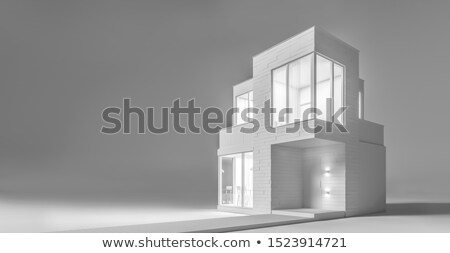 volumetric projection home Stock photo © butenkow