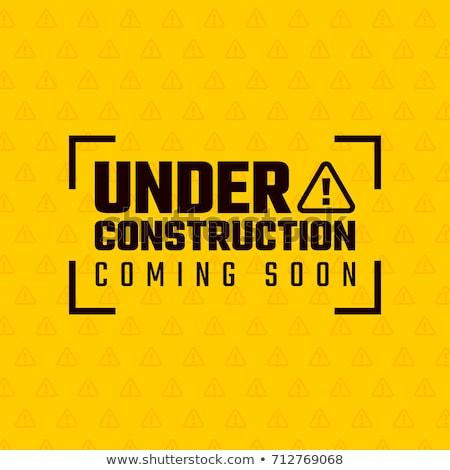 Www costruzione lavoro sicurezza industria lavoratore Foto d'archivio © 4designersart