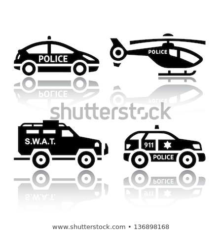 oficial · de · policía · calle · de · la · ciudad · oficial · seguridad · urbanas · policía - foto stock © ecelop