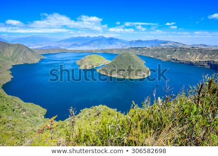Mount Cotacachi Stock photo © rhamm