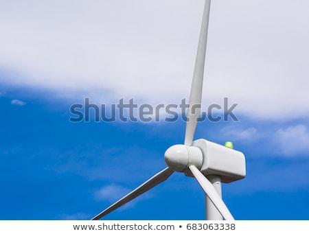 moinho · de · vento · poder · gerador · vento · usina · parque · eólico - foto stock © snyfer
