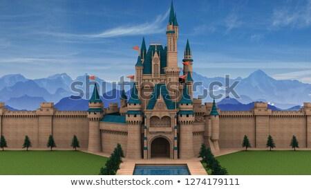 résidentiel · château · dresde · maison · bâtiment · bâtiments - photo stock © goce
