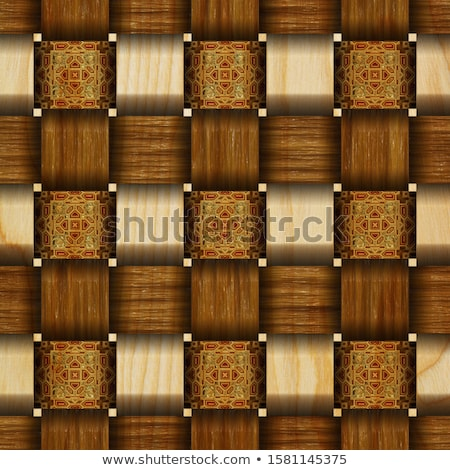 Elegance wood carving door Stock photo © smuay