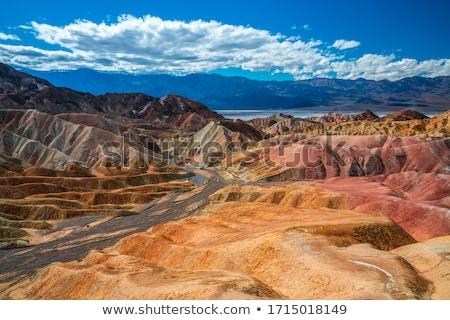 Zabriskie Point in Death Valley Stock photo © meinzahn