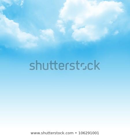 bolyhos · felhők · kék · ég · égbolt · copy · space · fenék - stock fotó © jaycriss