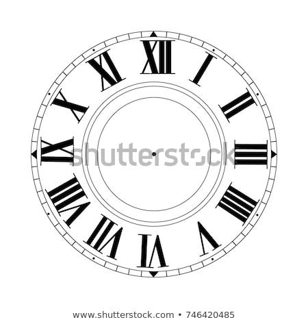 idő · óra · arc · közelkép · kilátás · mechanizmus - stock fotó © tashatuvango