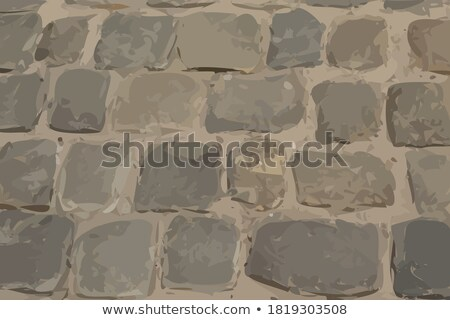 detail of old stone pavement - texture Stock photo © jarin13