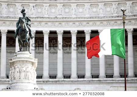 Monument for Victor Emenuel II, in Rome, Italy Stock photo © vladacanon