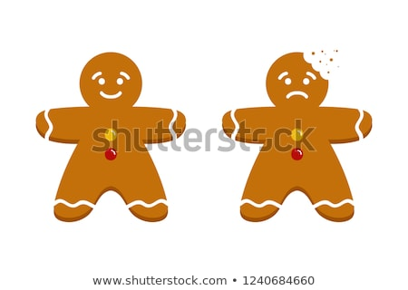 sad gingerbread man Stock photo © ozaiachin