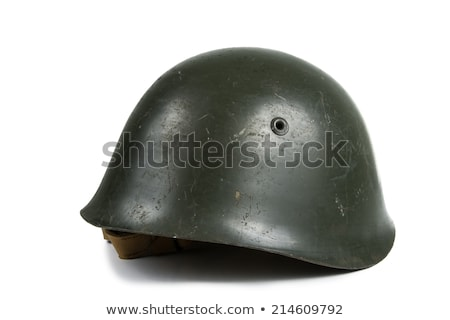 vintage army helmet stock photo © ozaiachin