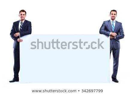 jonge · man · jonge · manager · ruimte - stockfoto © fuzzbones0