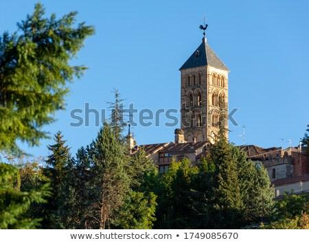 Tower of the church Stock photo © frescomovie
