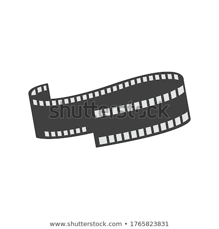 Cinematography movie video film tape isolated Stock photo © LoopAll