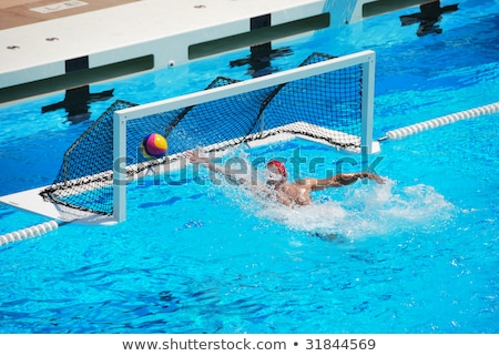 Olympic water polo goal gate Stock photo © jordanrusev