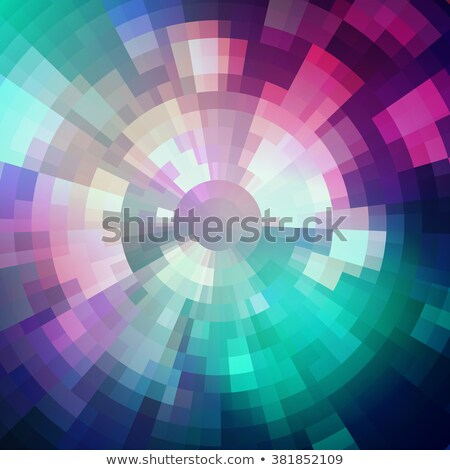 Abstract background made from circles on dark background Stock photo © orson